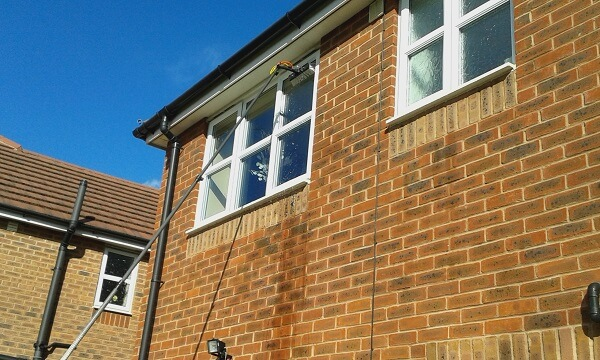 image of window cleaning newport