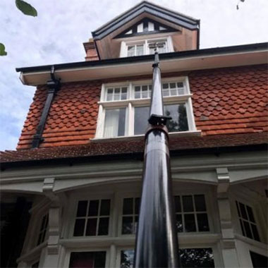 image of residential window cleaning